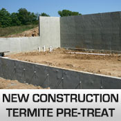 new construction termite pretreat commercial pest control